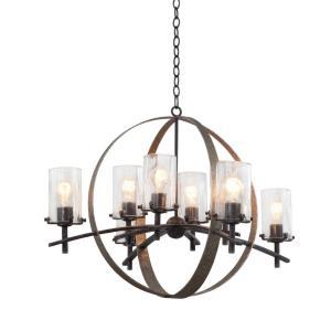 Irvine - Eight Light Chandelier