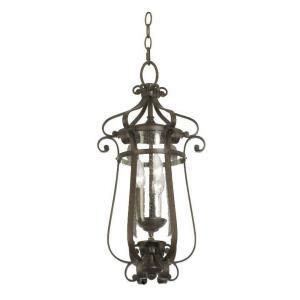Hartford - Three Light Outdoor Medium Hanging Lantern
