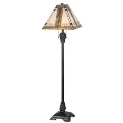 Kenroy Lighting 32287ORB Pratt - Two Light Floor Lamp