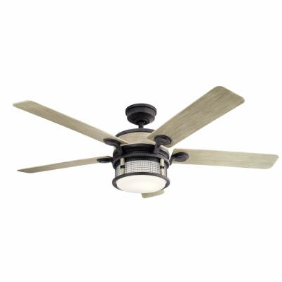 Kichler Lighting 310170 Ahrendale 60 Ceiling Fan With Light Kit