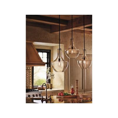 "Kichler Lighting 42046OZ Everly - 13.75"" One Light Pendant"