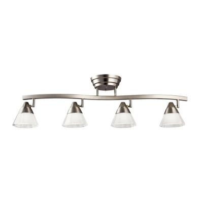 Kichler Lighting 10325NI Four Light Led Fixed Rail