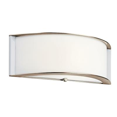 Kichler Lighting 10630PN Arcola - One Light ADA Wall Sconce