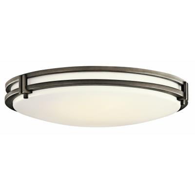 Kichler Lighting 10828OZ Three Light Flush Mount