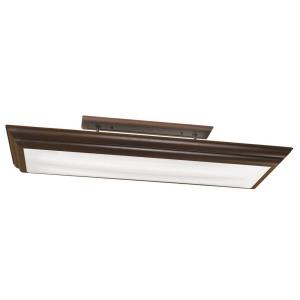 Chella - Four Light Linear Ceiling Mount
