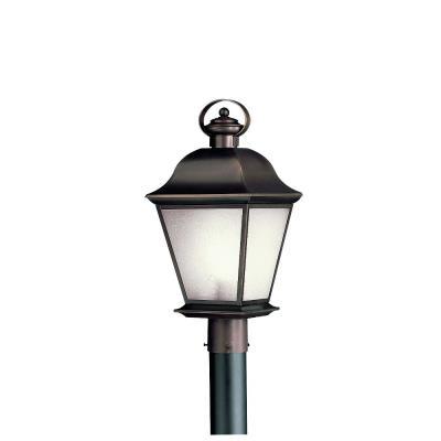 Kichler Lighting 10911OZ Mount Vernon - One Light Outdoor Post Mount