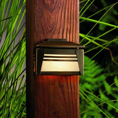 Kichler Lighting 15110OZ Zen Garden - Low Voltage One Light Deck Lamp
