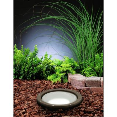 Kichler Lighting 15295AZ HID Line Voltage One Light Well Lamp