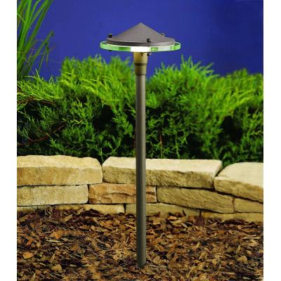 Kichler Lighting 15317AZT Six Groove - Low Voltage One Light Path Lamp