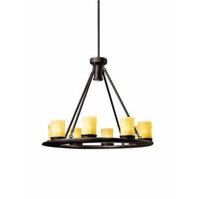 Kichler Lighting 15402OZ Oak Trail - Nine Light Outdoor Chandelier