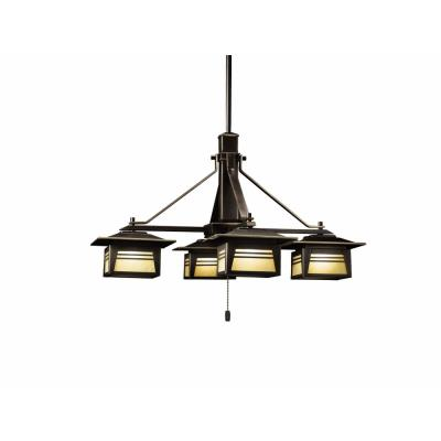 Kichler Lighting 15409OZ Zen Garden - Four Light Chandelier
