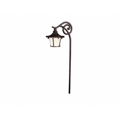 Kichler Lighting 15420AGZ Cotswold - Low Voltage Path and Spread Light