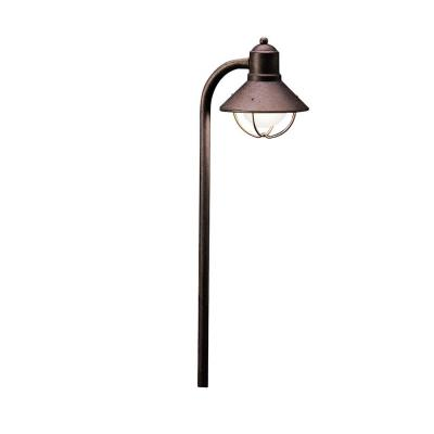 Kichler Lighting 15438OB Low Voltage One Light Path and Spread