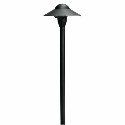 "Kichler Lighting 15470BKT Low Voltage 6"" Dome Path Light"