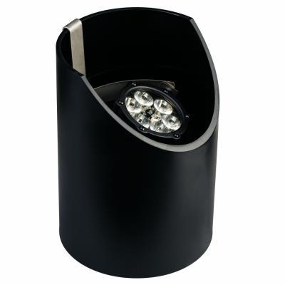 Kichler Lighting 15747BKT Low Voltage Six Light Led In-Ground Medium Fixture
