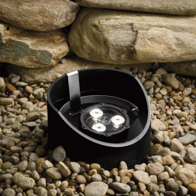 Kichler Lighting 15767BKT Low Voltage 10 Degree LED Well Light