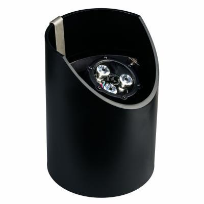 Kichler Lighting 15769BKT Low Voltage 60 Degree LED Well Light