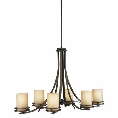 Kichler Lighting 1673OZ Hendrik - Six Light Chandelier