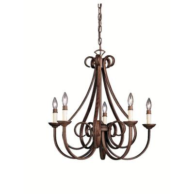 Kichler Lighting 2021TZ Dover - Five Light Chandelier