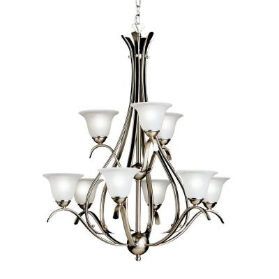 Kichler Lighting 2520NI Dover - Nine Light Chandelier