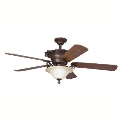 """Kichler Lighting 300006CZ Wilton - 54"""" Ceiling Fan"""