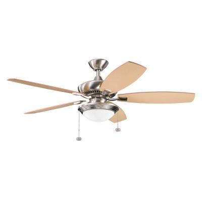"Kichler Lighting 300016BSS Canfield Select - 52"" Unipack Ceiling Fan"