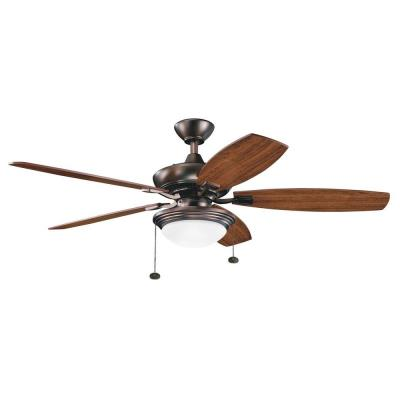 "Kichler Lighting 300016OBB Canfield Select - 52"" Unipack Ceiling Fan"