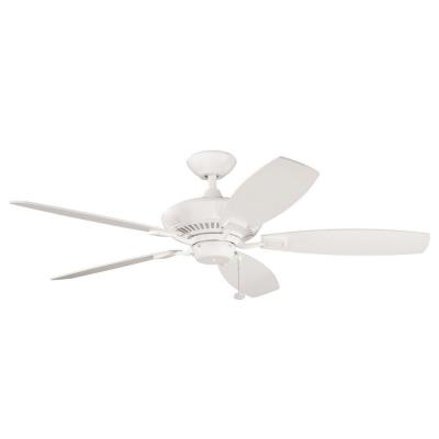 "Kichler Lighting 300117SNW Canfield - 52"" Ceiling Fan"
