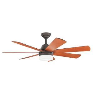 """Ellys - 56"""" Ceiling Fan with Light Kit"""