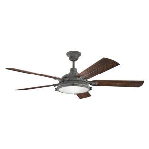 "Hatteras Bay Patio - 60"" Ceiling Fan with Light Kit"