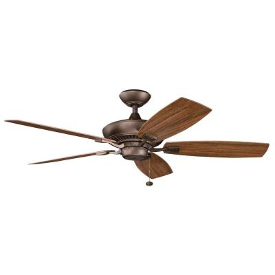 "Kichler Lighting 310192WCP Canfield Patio - 52"" Ceiling Fan"
