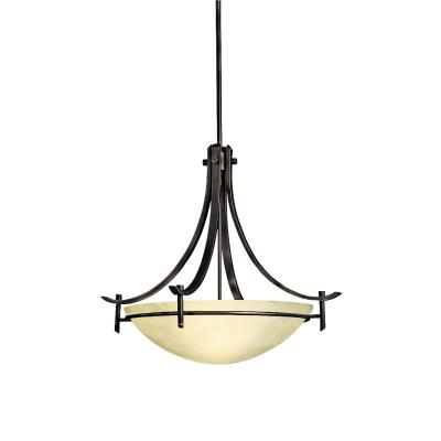 Kichler Lighting 3278OZ Olympia - Three Light Inverted Pendant