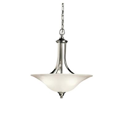 Kichler Lighting 3502NI Dover - Three Light Convertible Pendant