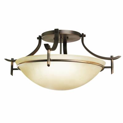 Kichler Lighting 3606OZ Olympia - Three Light Semi-Flush Mount