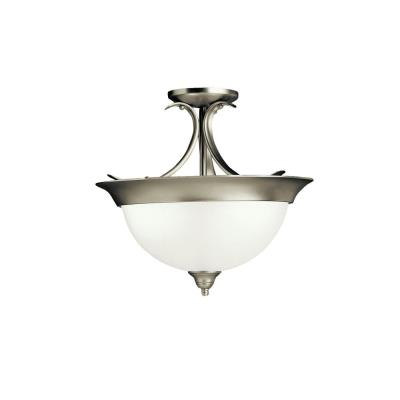Kichler Lighting 3623NI Dover - Three Light Semi-Flush Mount