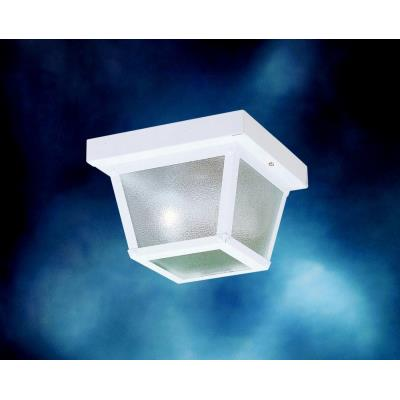 Kichler Lighting 365WH One Light Outdoor Flush Mount