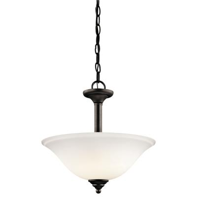 Kichler Lighting 3694OZW Wynberg - Two Light Convertible Semi-Flush Mount