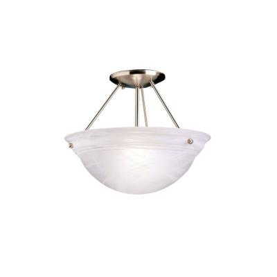 Kichler Lighting 3718NI Two Light Semi-Flush Mount