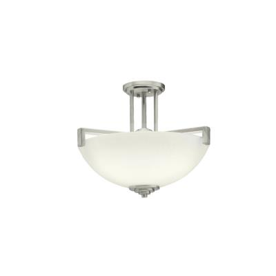 Kichler Lighting 3797NI Eileen - Three Light Semi-Flush Mount