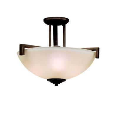 Kichler Lighting 3797OZ Eileen - Three Light Semi-Flush Mount