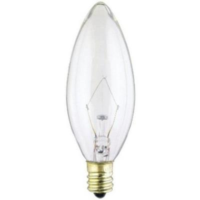 Kichler Lighting 4063CLR Accessory - 40W E12 B10 Bulb