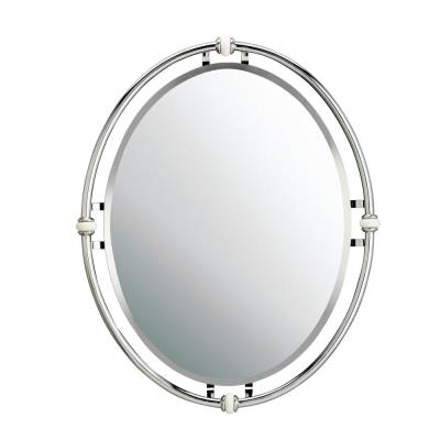 "Kichler Lighting 41067CH Pocelona - 24"" Mirror"