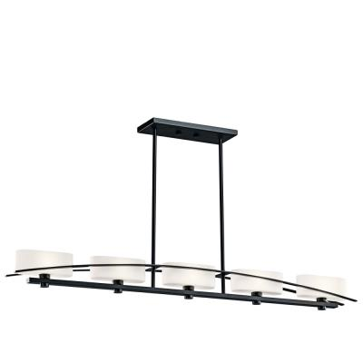 Kichler Lighting 42018 Suspension - Five Light Linear Chandelier