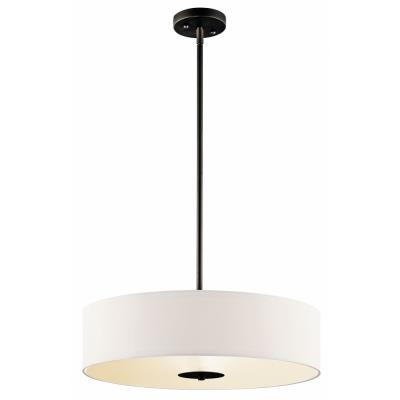 Kichler Lighting 42121OZ Three Light Inverted Pendant