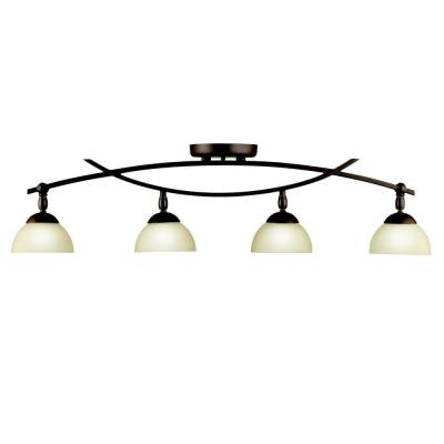 Kichler Lighting 42164OZ Bellamy - Four Light Fixed Rail