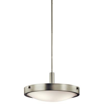 Kichler Lighting 42245NI Lytham - Three Light Convertible Semi-Flush mount