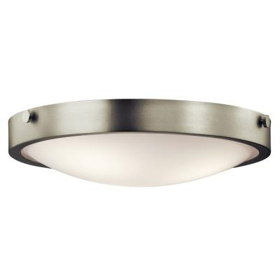 Kichler Lighting 42275NI Lytham - Three Light Flush Mount