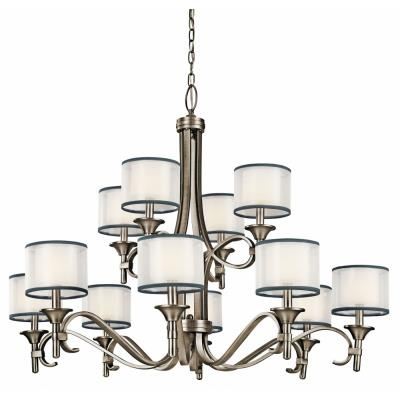 Kichler Lighting 42383 Lacey - Twelve Light 2-Tier Chandelier