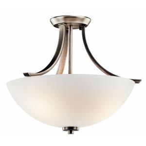 Granby - Three Light Semi-Flush Mount