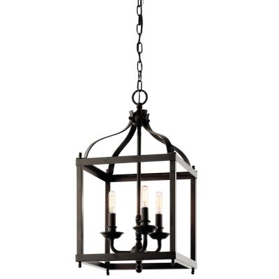 Kichler Lighting 42566OZ Larkin - Three Light Cage Foyer